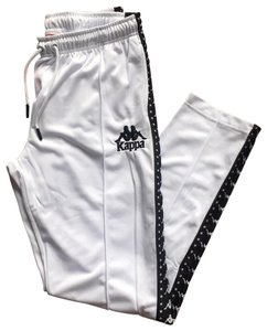 Kappa Mens Track Track Athletic Pants White