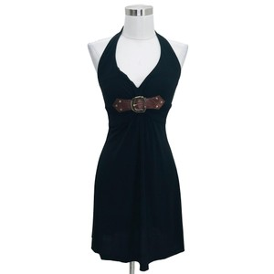 Cache short dress Black, Brown on Tradesy
