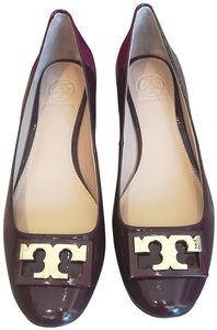 Tory Burch Oxblood/ Purple Pumps
