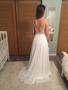 Casual Wedding Dress.Lulu S White Polyester Casual Wedding Dress Size 2 Xs 28 Off Retail