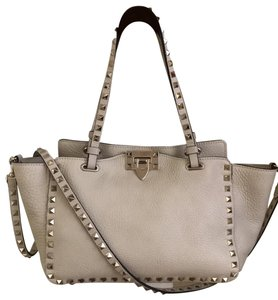 Valentino Tote in Ivory White