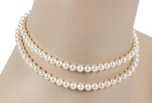 Mikimoto Mikimoto 6.5-7mm Akoya Pearl Strand Necklace With Sterling Silver Clasp - 28