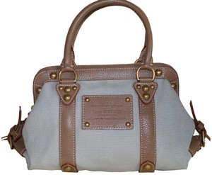Louis Vuitton Limited Edition Rare Vintage Tote in Khaki Brown