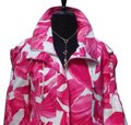 Cache Pink White Luxe Lined Event Top New O Drawstring 4/6 S Jacket Size 6 (S) Cache Pink White Luxe Lined Event Top New O Drawstring 4/6 S Jacket Size 6 (S) Image 2