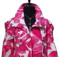 Cache Pink White L Luxe Lined Event Top New O Drawstring 12/14 Jacket Size 12 (L) Cache Pink White L Luxe Lined Event Top New O Drawstring 12/14 Jacket Size 12 (L) Image 2