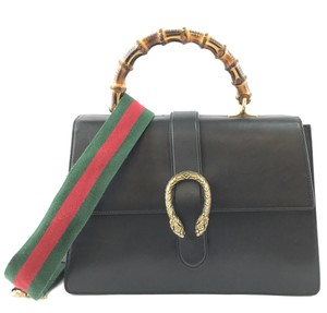 Gucci Dionysus Flap With Strap Bamboo Shoulder Bag