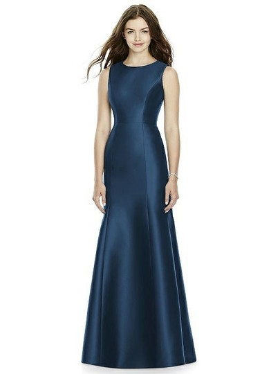 Onyx Sateen Twill Bb106 Formal Bridesmaid/Mob Dress Size 10 (M) Image 0
