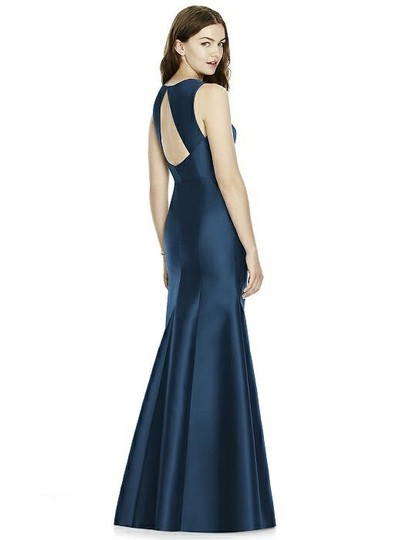 Onyx Sateen Twill Bb106 Formal Bridesmaid/Mob Dress Size 10 (M) Image 1