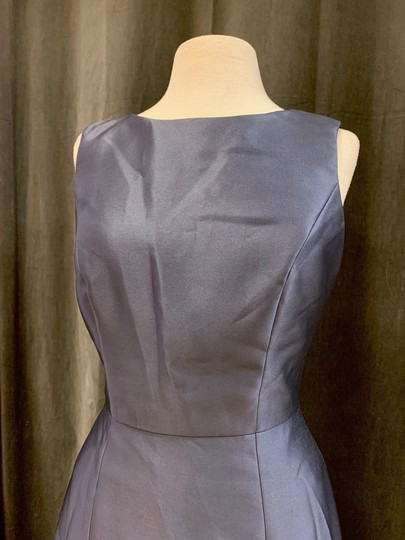 Onyx Sateen Twill Bb106 Formal Bridesmaid/Mob Dress Size 10 (M) Image 3