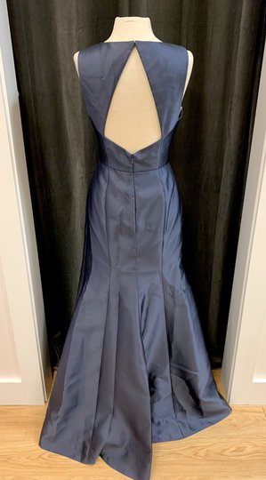 Onyx Sateen Twill Bb106 Formal Bridesmaid/Mob Dress Size 10 (M) Image 4