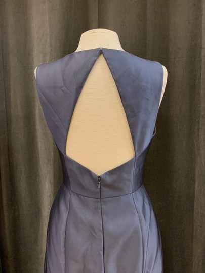 Onyx Sateen Twill Bb106 Formal Bridesmaid/Mob Dress Size 10 (M) Image 5