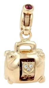 Pasquale Bruni Pasquale Bruni 18k Rose Gold Amore Diamond Handbag Purse Charm-box Cert