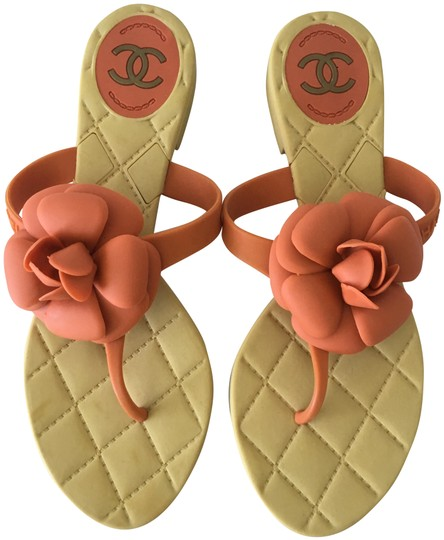 Preload https://img-static.tradesy.com/item/25736141/chanel-beige-orange-jelly-luxe-vintage-find-camellia-flowers-flip-flop-sandals-size-us-7-regular-m-b-0-1-540-540.jpg