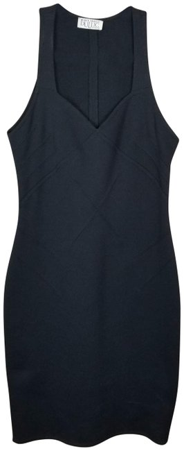 Item - Black Body-con Short Night Out Dress Size 8 (M)