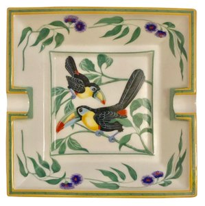 Hermes Hermes Porcelain Toucan Ashtray