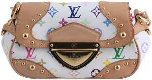 Louis Vuitton Marilyn Satchel in Multi color