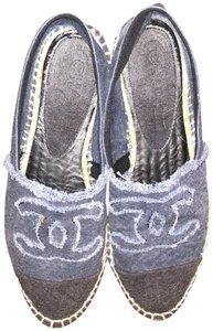 Chanel Denim Flats