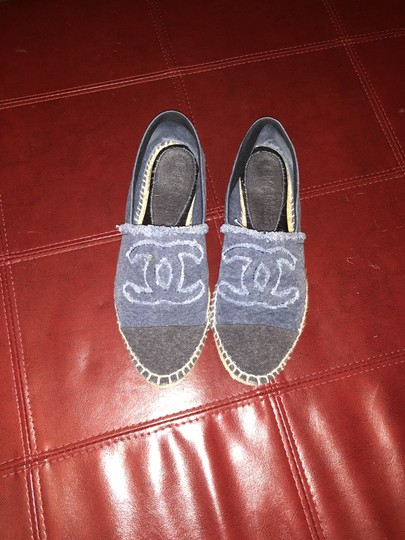 Chanel Denim Flats Image 1