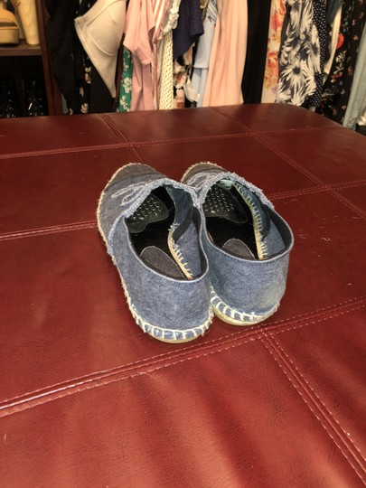 Chanel Denim Flats Image 4