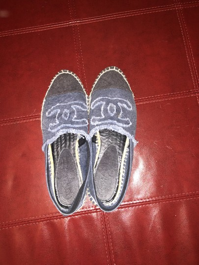 Chanel Denim Flats Image 5