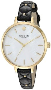 Kate Spade Kate Spade New York Women's mother-of-pearl black leather KSW1469