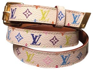 Louis Vuitton LV Multicolor White - Belt