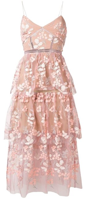 Preload https://img-static.tradesy.com/item/25737851/self-portrait-light-pink-floral-lace-mid-length-out-long-cocktail-dress-size-6-s-0-1-650-650.jpg