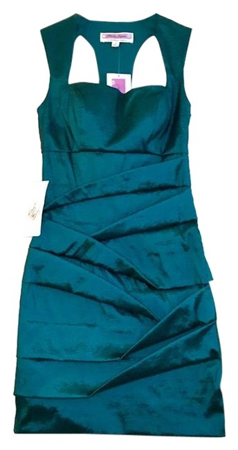Item - Jade (Teal) 201c25130 Short Formal Dress Size 4 (S)