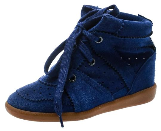 Preload https://img-static.tradesy.com/item/25737958/isabel-marant-blue-bobby-suede-lace-up-sneakers-wedges-size-eu-36-approx-us-6-regular-m-b-0-1-540-540.jpg