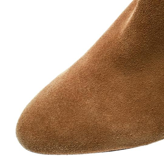 Isabel Marant Suede Leather Ankle Beige Boots Image 6