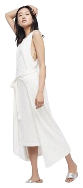 Item - Cream Beach Wrap Midi Mid-length Casual Maxi Dress Size 2 (XS)