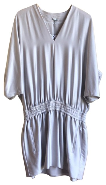 Item - Silver Grey Meiko (Style #diavf40721) Short Night Out Dress Size 6 (S)