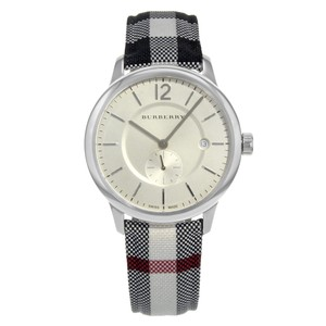 Burberry The Classic Round Steel Quartz Unisex Watch BU10002