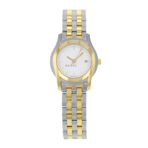 Gucci 5500L YA055528 Gold Tone Stainless Steel Quartz Ladies Watch