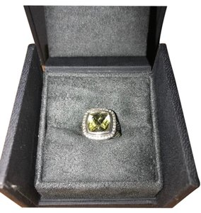 David Yurman David Yurman Prasiolite Diamond Ring