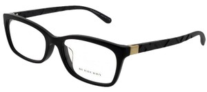 Burberry BE2220F-3001-54 Rectangle Women's Black Frame Clear Lens Eyeglasses