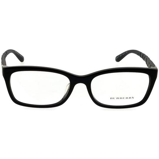 Burberry BE2220F-3001-54 Rectangle Women's Black Frame Clear Lens Eyeglasses Image 1