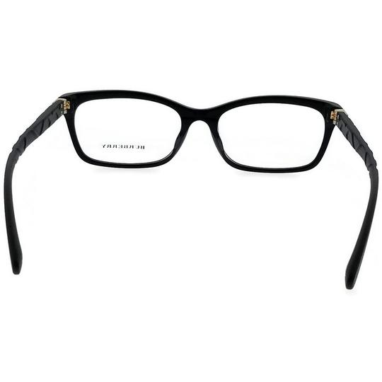 Burberry BE2220F-3001-54 Rectangle Women's Black Frame Clear Lens Eyeglasses Image 3