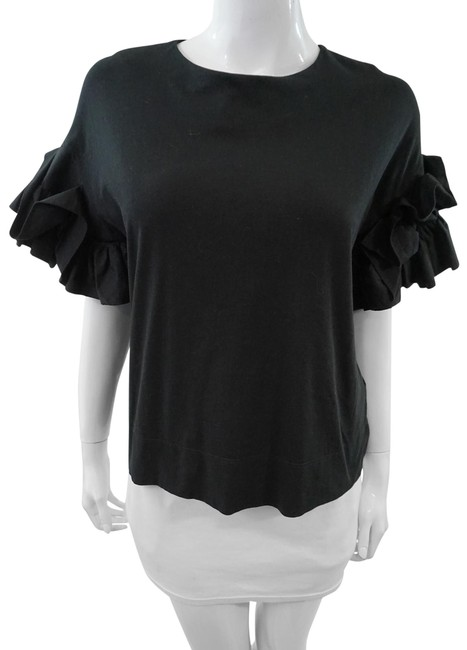 Preload https://img-static.tradesy.com/item/25739552/victoria-victoria-beckham-black-blouse-size-0-xs-0-1-650-650.jpg