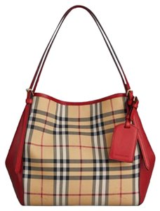 Burberry Tote in Honey Parade Red