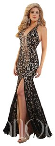 Panoply Halter Top Prom Homecoming Long Dress