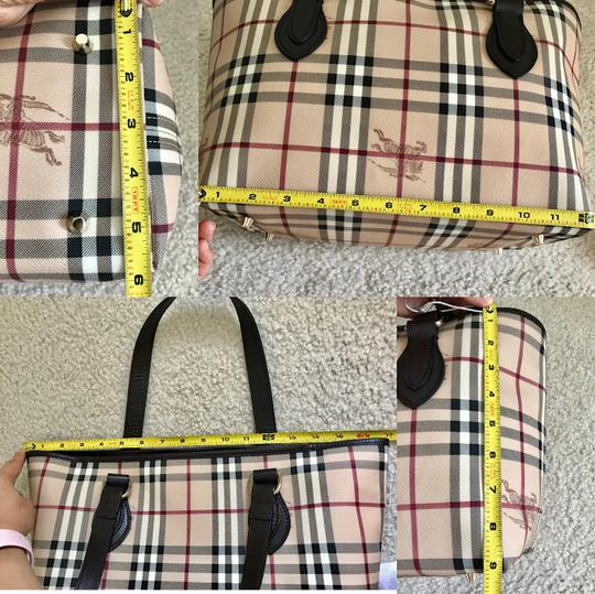 Burberry Tote in dark brown & chocolate & multiple Image 11
