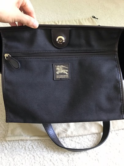 Burberry Tote in dark brown & chocolate & multiple Image 9