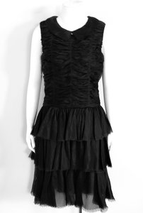 Chanel Little Tiered Fall 2006 Collar Dress
