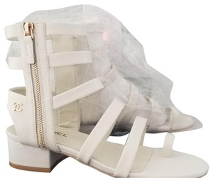 Chanel Cream color Sandals