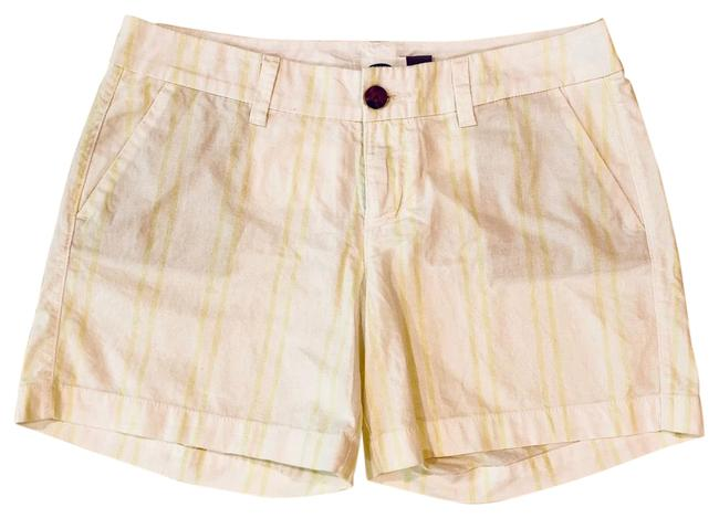 Item - Neon Green Stripes Everyday Shorts Size 2 (XS, 26)
