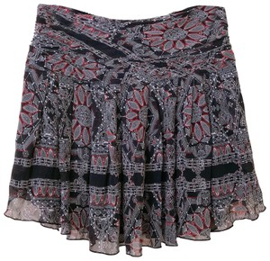 Club Monaco Mini Skirt multi color