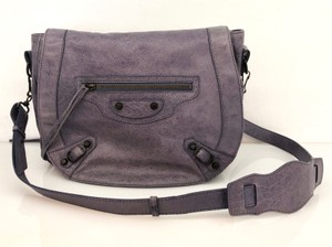 fd9966ad014d8 Purple Leather Balenciaga Cross Body Bags - Up to 70% off at Tradesy