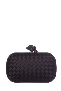 Bottega Veneta Black Clutch