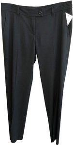 Moschino Cheap & Chic Dress Work Italy Straight Pants Black